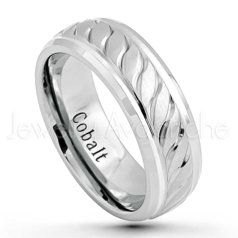 rings cobalt comfort fit mens wedding dp band com amazon ring sizes to traditional