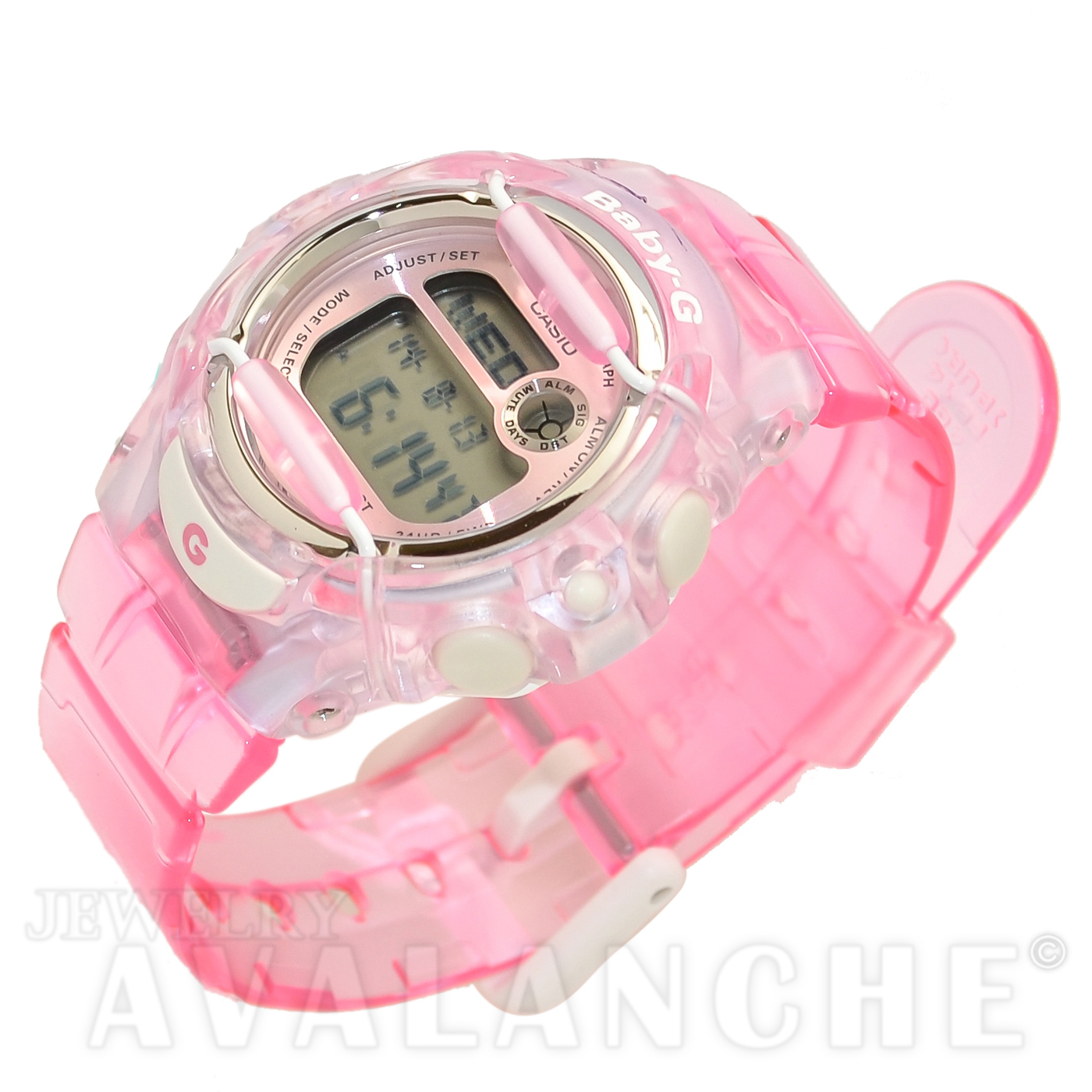 mother women home diamond ladies shop pearl watch sport s womens seiko and grand of pink stainless steel le watches